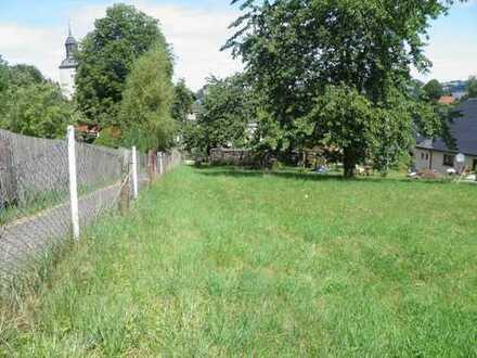 Grundstück in grüner Lage zum Bau eines Einfamilienhauses zum Verkauf