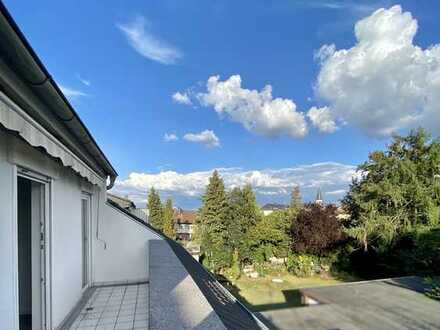 Profi Concept: Moderne 5 Zi.-DG-Wohnung mit Balkon in beliebter Lage von Urberach