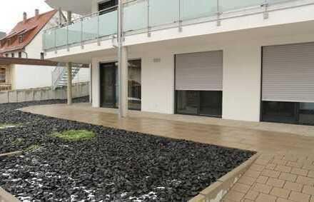 NEUBAU 3,5 Zimmer Gartengeschoss Wohnung mit neuer EBK, Terrasse und Stellplatz in 71154 Nufringen