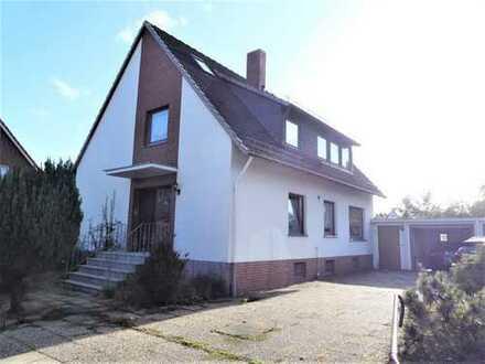 Freistehendes Ein-/Zweifamilienhaus mit Doppelgarage in Mahndorf!