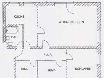 Sehr schöne 4 Zimmer Wohnung in Gelnhausen (1006)