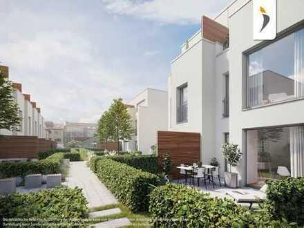 Ruhig und doch Zentral! Stadthaus mit 3 Zimmern und eigenem Garten in lebendiger Umgebung