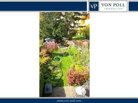 Von Poll Immobilien  Parkinsel - Stadthaus in ruhiger, idyllischer Lage
