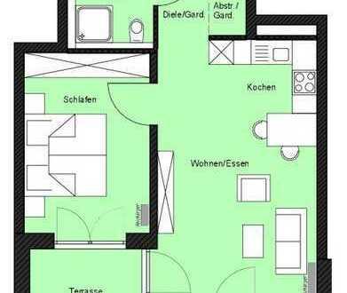 """""""Wohnen in den Krautgärten"""" - 2-Zimmer-Wohnung im Erdgeschoss (Erstbezug)"""