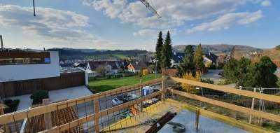 Familienfreundliche Wohnung mit Terrasse und Garten