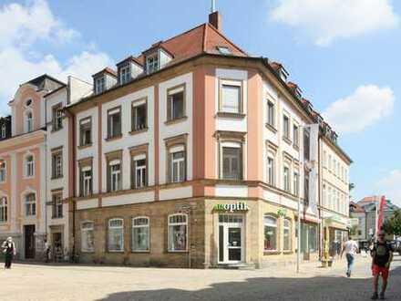 Top gepflegte Büroräume mit ca. 183m² im 2.OG in Bestlage am Bayreuther Marktplatz!