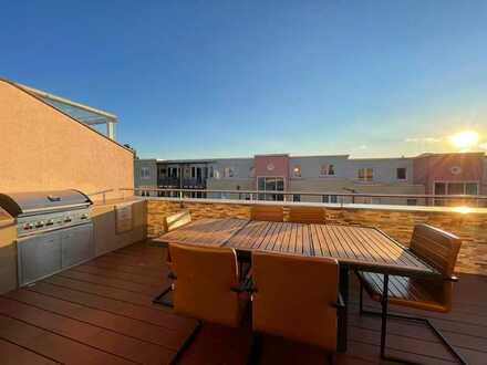 Luxus Penthouse mit wunderschöner Dachterrasse und Tiefgaragenstellplatz