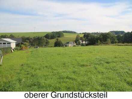 Naturidyll mit Blick ins Vogtland