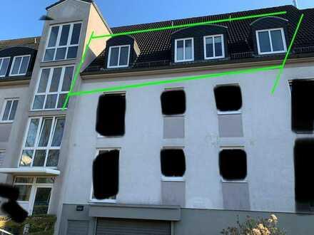 Lichtdurchflutete 3-Zimmer Wohnung mit Balkon zur Südseite und Einbauküche in Bremen-Vegesack