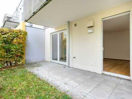 2-Zimmer-EG-Wohnung mit sehr schöner Terrasse in Neubiberg