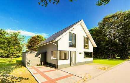 Modernes Einfamilienhaus in Dyk-Lage, frei planbar mit Wärmepumpe (ca.130m² schlüsselfertig)