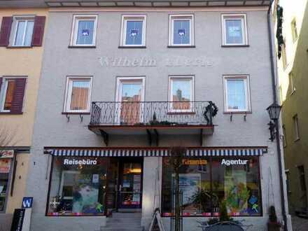 Erstbezug nach Sanierung mit Einbauküche: schöne 4-Zimmer-Dachgeschosswohnung in Wangen im Allgäu