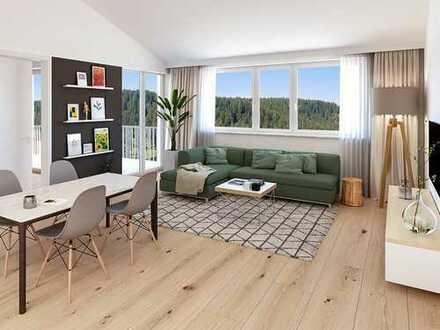 4-Zimmer-Dachgeschosswohnung mit viel Wohnflair und Freiraum in lebenswerter Umgebung