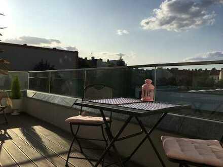 Schöne 3-Zimmer-Neubauwohnung mit Einbauküche und großem Balkon