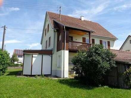 Ein Haus mit Ausblick in Pfronstetten-Huldstetten
