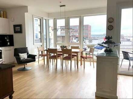 Großzügige 2-Zimmer-Wohnung an der Weser