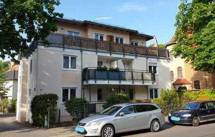 Gelegenheit! Schöne 3-R-Wohnung mit Balkon in Dresden-Wilder Mann