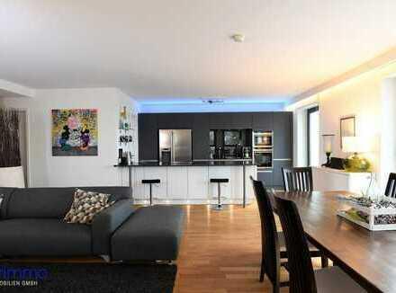ON TOP! 161 qm luxuriöse Eigentumswohnung im PANDION BELVEDERE in 1A Wohnlage von Köln.