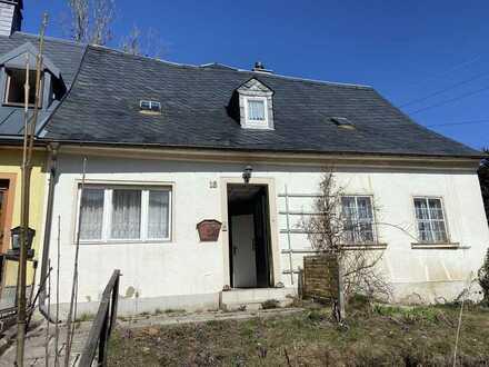 Tolles Haus zum Ausbauen in ruhiger Lage von Eibenstock!