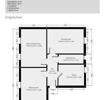 Vollständig renoviert 3-Zimmer-EG-Wohnung mit EBK in Hannover Ledeburg