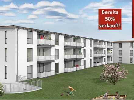 Neubau 2 Zimmer Eigentumswohnung in Burgbernheim 12/1.OG