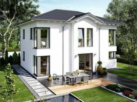 Wohntraum: exklusive Stadtvilla inkl. Grundstück an der Bergstraße