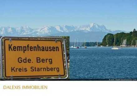 Kempfenhausen: Exklusives Bau-Grundstück -sehr diskrete, beste Wohnlage-
