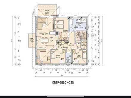 Neuwertige 4-Raum-Wohnung mit zwei Balkone in Althegnenberg