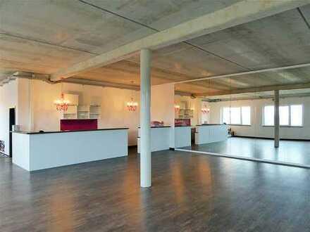 FÜ-Hardhöhe West: Tanzen, Yoga oder Büro - Top-Gewerbefläche mit 135 m² (1. OG)