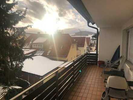 Gepflegte 4-Zimmer-Wohnung mit Balkon, Garage und EBK in Geisingen
