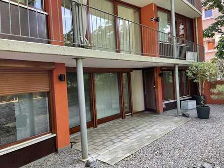 5 Zimmer Wohnung mit Stellplatz in der Brunhildestraße