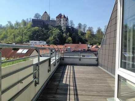 Sanierte 2-Zimmer-DG-Wohnung mit Balkon in Heidenheim