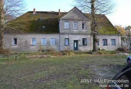Ideal für Pferdehalter - Ehemaliges Gutshaus mit 2,7 ha Wiese am Hof und zwei Baugrundstücken