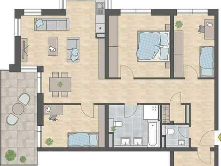 Familiengerechte 4-Zimmer-Wohnung in der Innenstadt
