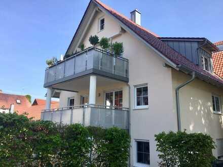 Neuwertige und helle 3-Zimmer-Wohnung in Bad Grönenbach
