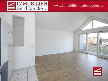 Attraktive 2-Zimmer-Dachgeschosswohnung in Haueneberstein!