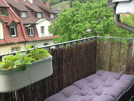 ZWISCHENMIETE: schöne 1,5-Zimmer-Wohnung mit Balkon in FR-Oberau