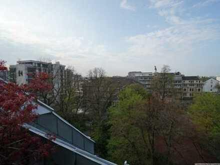Große Maisonette-Whg. mit Dachterrasse, Balkon und Lift, toller Blick über Neuss