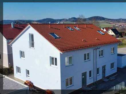 Familienfreundliche Doppelhaushälfte Neubau mit eigenem Garten in Ziemetshausen