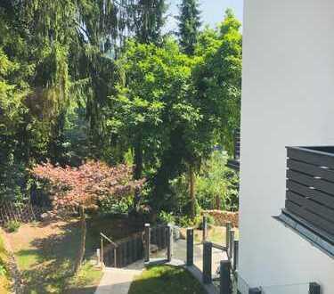 Erstbezug: exklusive 2-Zimmer-Wohnung mit Neckarblick