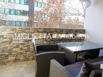 Gepflegte Wohnung mit Balkon und TG-Stellplatz