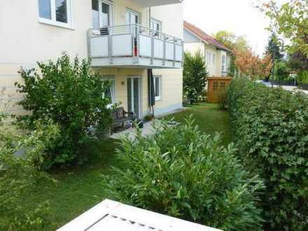 sonnige, 2 Zimmer Gartenwohnung in ruhiger Lage, S-Bahn Nähe, von privat