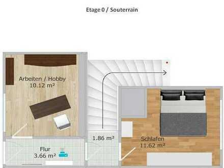 Ansprechende 3-Zimmer-Maisonette-Wohnung mit Freisitz in Weißenfels Ost