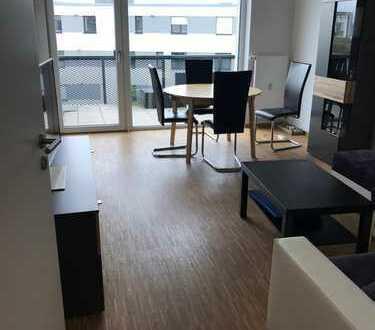 Exklusive 3-Zimmer-Wohnung in Passivhaus mit Balkon und EBK in Heidelberg