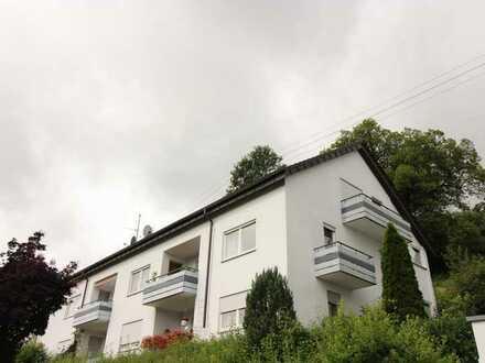 1-Zimmer Dachgeschosswohnung mit Balkon