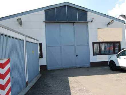 Große vermietete Halle mit Grundstück in Mainz Mombach zu verkaufen