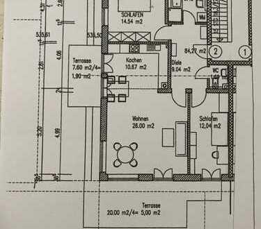 Sonnige 3-Zi-Wohnung mit Garten am Chiemsee