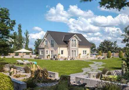 Tolles Zweifamilienhaus inkl. Grundstück auf Bodenplatte inkl. Einbauküche