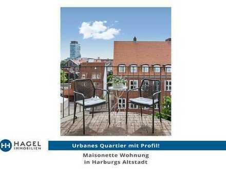 Maisonette Wohnung in Harburgs Altstadt. Quartier mit Profil.