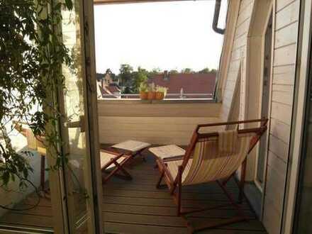 Traumhaft schöne Maisonette-Wohnung mit einer großen Süd-West Loggia